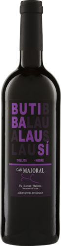 Butibalausi Negre DO 2014 Can Majoral Biowein