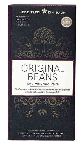 Grand Cru Blend No.1 80% Bio Schokolade Original Beans