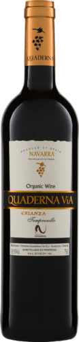 Quaderna Via Navarra Crianza DO 2015/2017 Biowein