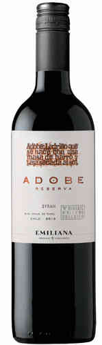 Adobe Syrah Reserva DO 2016/2017 Emiliana Biowein