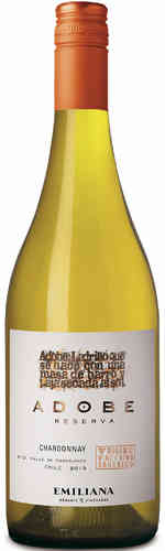 Adobe Chardonnay DO 2018 Biowein Emiliana