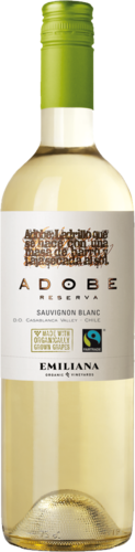 Adobe Sauvignon Blanc DO 2017 Biowein Emiliana
