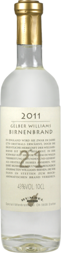 Gelber Williams Nr. 21 Humbel Bio