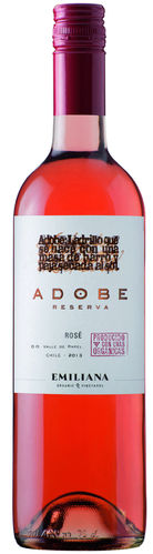 Adobe Rosé Reserva DO 2017 Emiliana Biowein