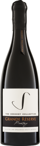 The Sensory Collection Réserve Pinotage 2015 Stellar Organics Biowein