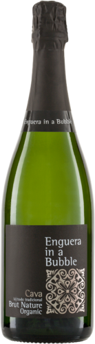 ENGUERA IN A BUBBLE Cava Brut Nature Enguera Biowein